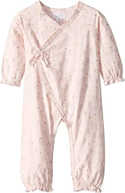Unicorn Print Kimono One-Piece (Infant)