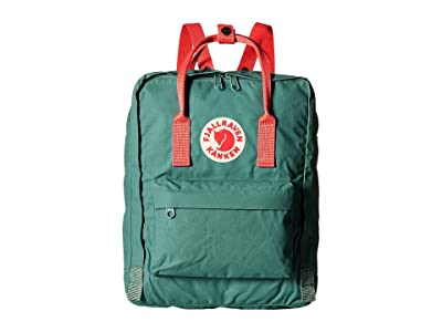 Fjallraven Kanken (Frost Green/Peach Pink) Backpack Bags