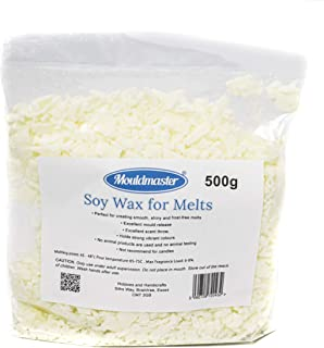 Mouldmaster Soy Wax for Melts 500g, White