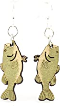 product image for Bass Fish Earrings