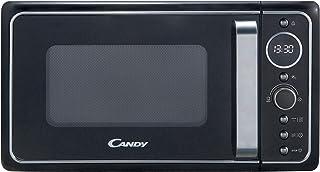 Candy Divo G20CMB, Micro-ondes avec grill 20 l, 1200 W, 9 programmes, express cooking, minuteur, affichage numérique circu...