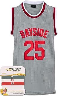 AFLGO Morris #25 Zack Bayside Tigers Saved Bell Basketball Jersey for Mens S-XXXL Grey