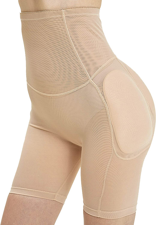 Ceestyle Mainstone Mujer Bragas Braguitas Relleno Embellecer Cadera Lencer/ía Pantalones de Seguridad Control Panties Shapewear Enhancer Hip Booty