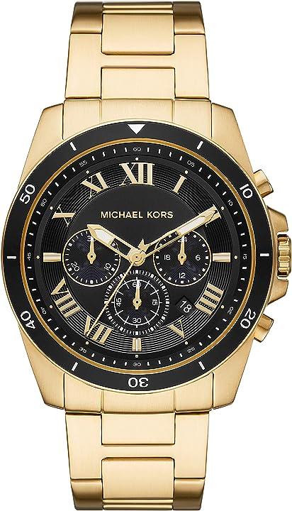 Orologio da uomo al quarzo in acciaio inossidabile michael kors mk8803