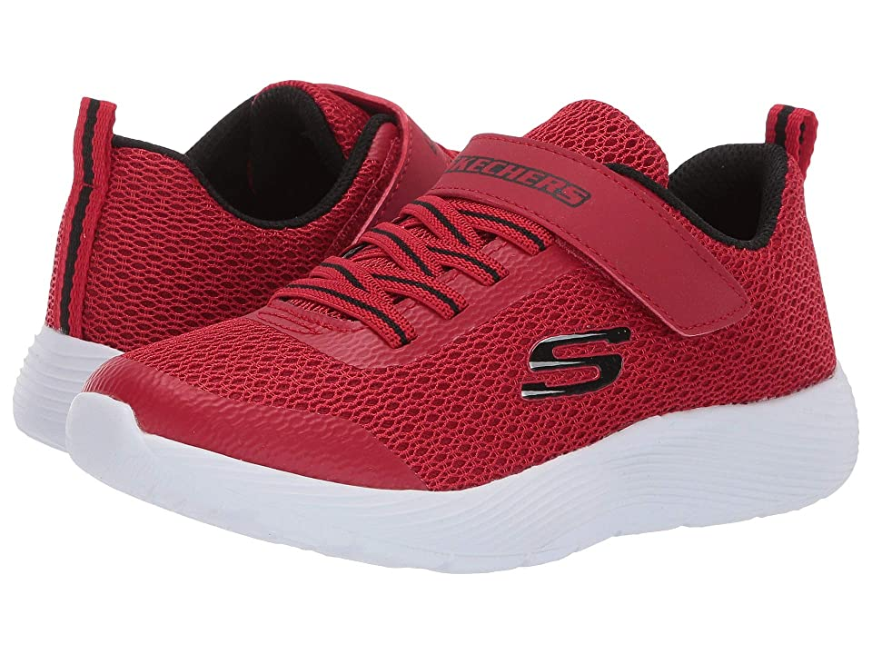 SKECHERS KIDS Dyna Lite (Little Kid/Big Kid) (Red/Black) Boy