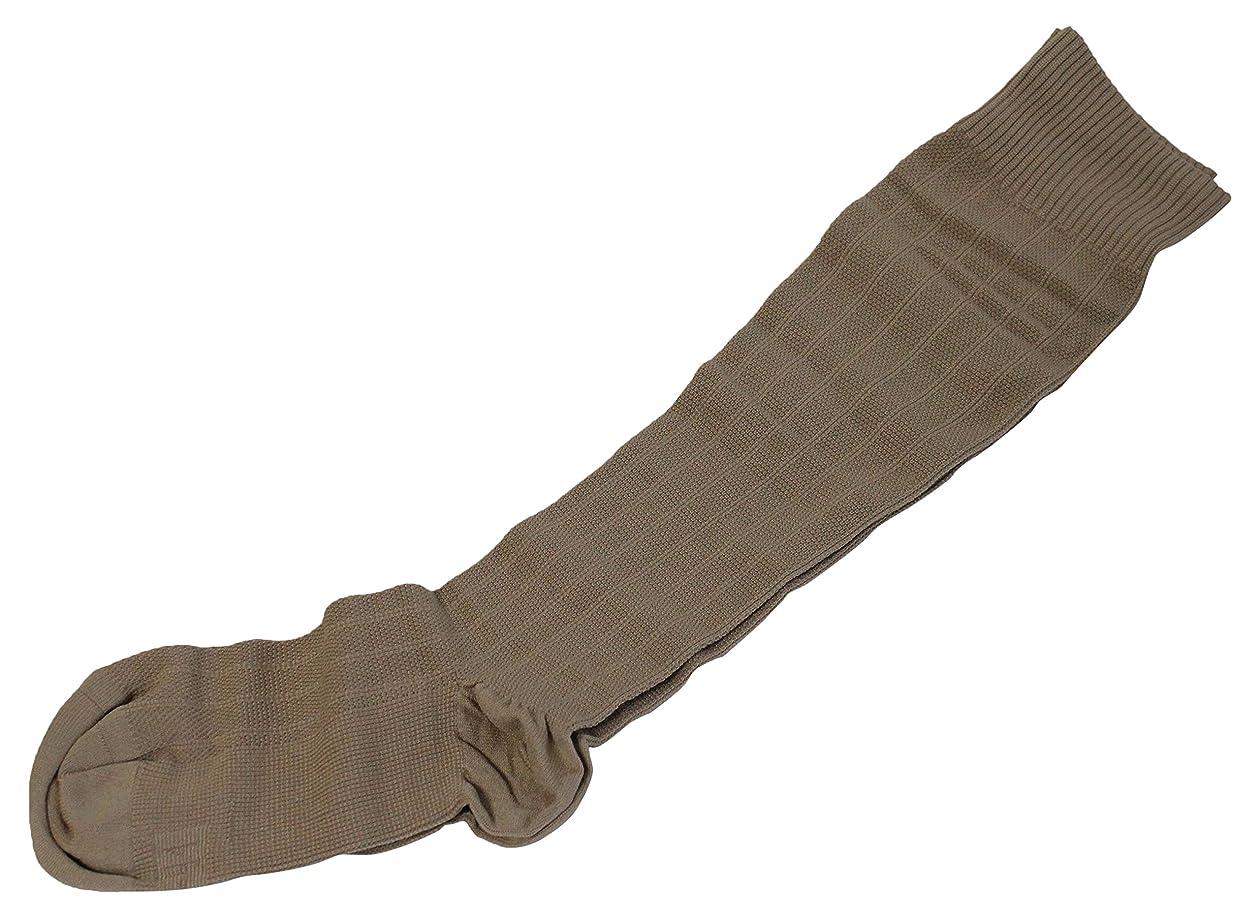 標準兵士シリンダーギロファ?メッシュソックス ベージュ Lサイズ(26.0~27.0cm)