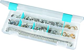 ArtBin Zerust Anti-Tarnish Large 4 Compartment Box, Small (12.38