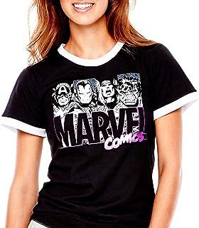 Marvel Comics Womens Marvel Girls Rule Tee