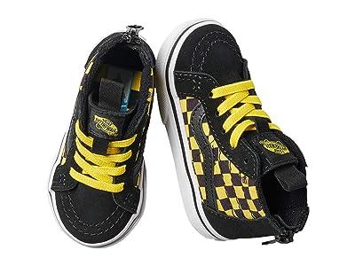 Vans Kids Sk8-Hi Zip (Infant/Toddler) ((Wheres Waldo?) Odlaw) Kids Shoes