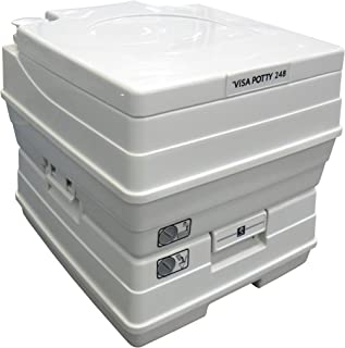 Sanitation Equipment Visa Potty Model: 248 18 Liter with 2-Level Indicators