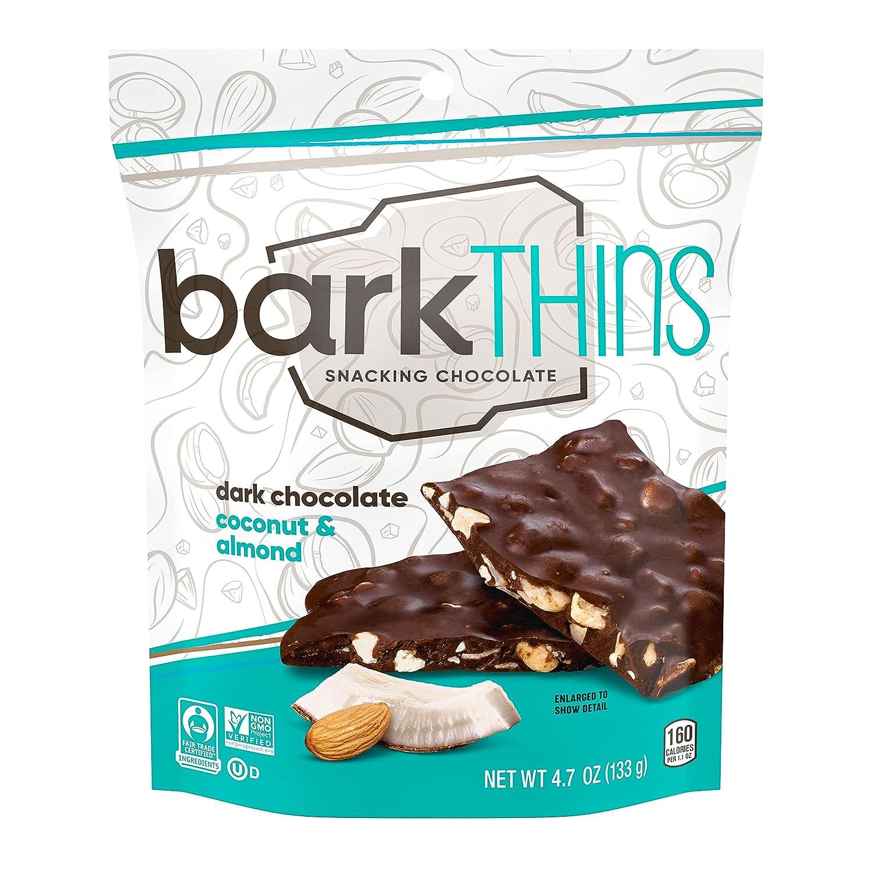 barkTHINS Dark Chocolate Ranking TOP16 Toasted Milwaukee Mall Coconut Almonds oz 4.7 with