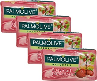 Palmolive Naturals Soap Suavidad Radiante 4 Pack 150g