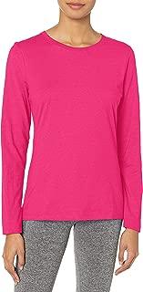 Hanes Women's Long-Sleeve Crewneck T-Shirt 2P