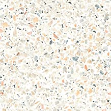 RoomMates RMK11277WP Terrazzo Tan Multi Colored Peel and Stick Wallpaper