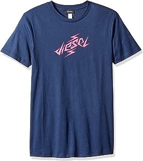 Diesel 男式 Bmowt-parsen T 恤