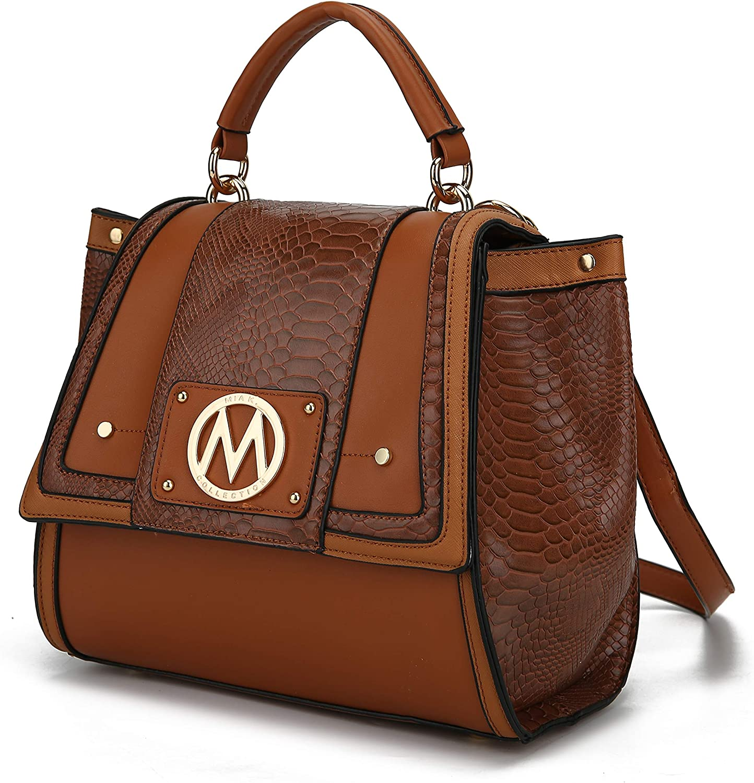 MKF Convertible Backpack Purse & Satchel Shoulder Bag for Women & Girls – PU Leather Top Handle Lady Travel Pocketbook