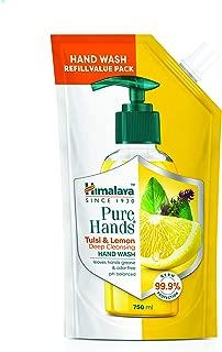 Himalaya Pure Hands Deep Cleansing Tulsi and Lemon - 750 ml Refill