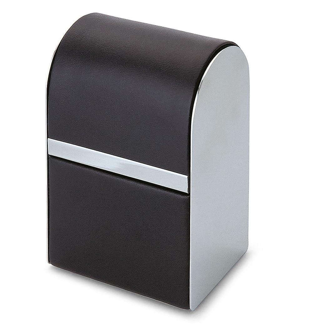 論理的にレイアウトマークされたPhilippi Giorgio メンズ身だしなみキット 7pcsセット leather stainless polished