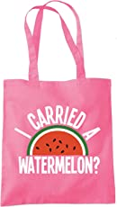 I Carried a Watermelon - Tote Shopper Fashion Bag