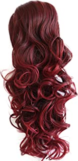 PRTTYSHOP Hair Piece Pony Tail Extension Draw String Voluminous Curly Heat-Resisting 22