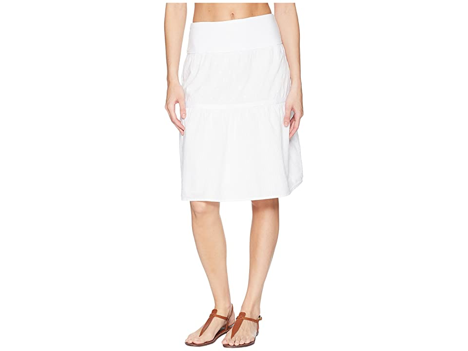 Prana Taja Skirt (White) Women