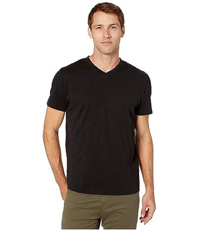 Mod-o-doc El Porto Short Sleeve V-Neck Tee (Black 1) Men