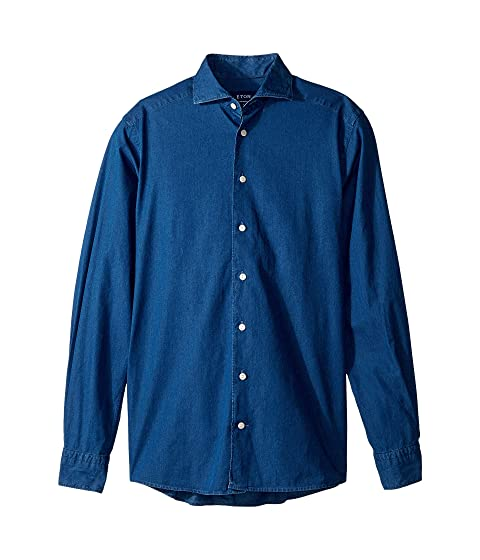 Eton Contemporary Fit Chambray