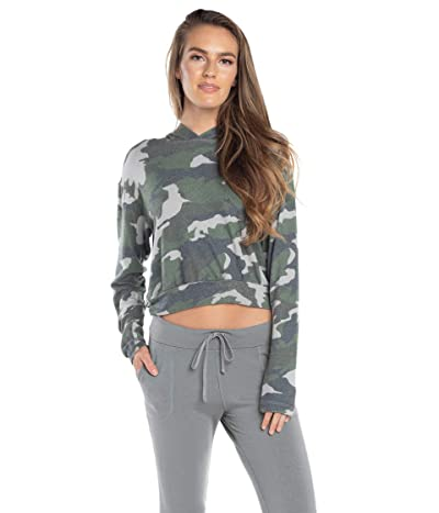 Hard Tail Cropped Hoodie (Dove) Women