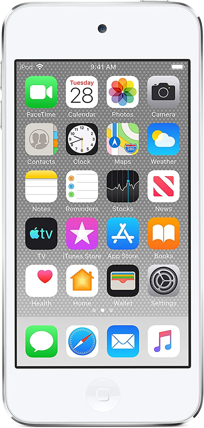 Apple iPod Touch (128GB) - Silver (Latest Model)