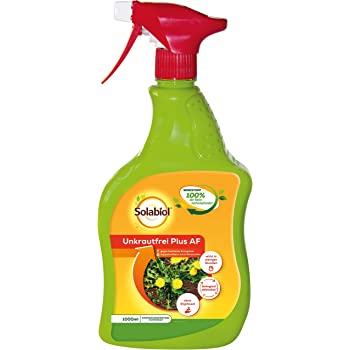 Solabiol Unkrautfrei Plus AF, 1 Liter Herbicida de Malas Hierbas ...