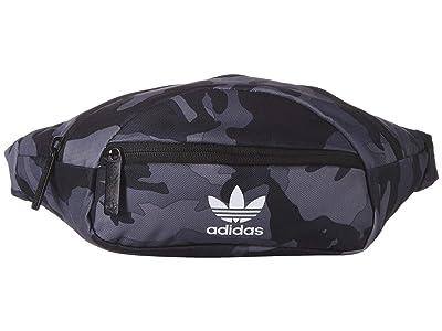 adidas Originals Originals National Waist Pack (Night Camo) Travel Pouch
