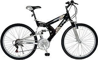 Titan Punisher Bicicleta de montaña de 21 velocidades de Doble suspensión, Todo Terreno, Altura del Marco de 18 Pulgadas