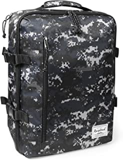 Rangeland Travel Backpack NEW 2019 21L Carry on Daypack Fits 15inch Laptop Notebook and Travel Accessories Meets IATA Flight Standards, Digi Camo