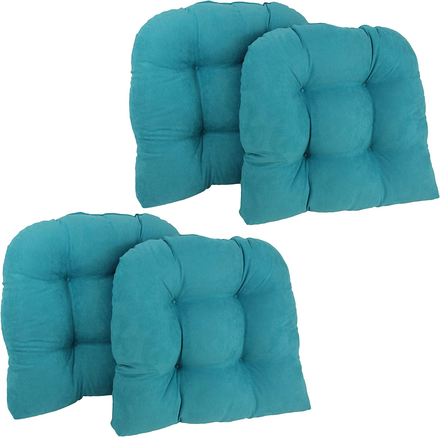Cheap super special price Blazing Needles U-Shaped Microsuede Cushions Chair Tufted Dining Today's only