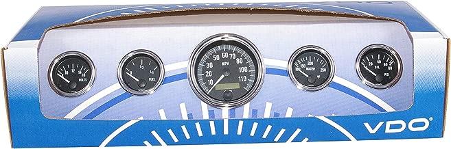 VDO Gauges Only. 600-925-GPS 5 Instrument Series 1 Kit. 5 Gauge Kit with GPS Speed Sender and 3 3/8