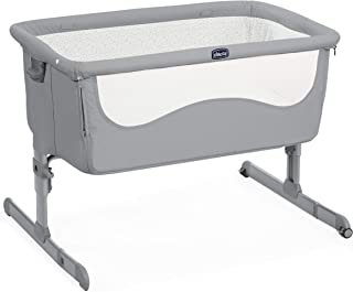 Chicco 2019 Next2Me Unisex Cot for All Beds Pearl Grey
