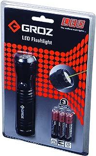 GROZ 18-Lumen LED Flashlight with Laser   Beam Distance: 65 Feet Aluminum Body (55000)