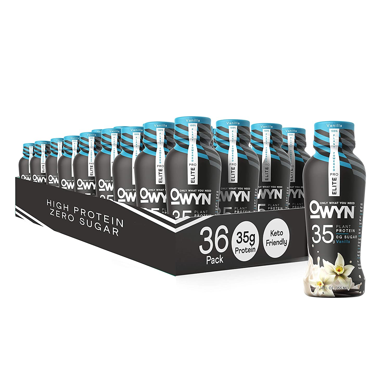 Owyn Pro Elite Opening large release sale Plant-Based High Protein Fl safety 12 Vanilla O Shake