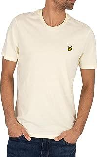 LYLE & SCOTT Men's Crew T-Shirt, Yellow