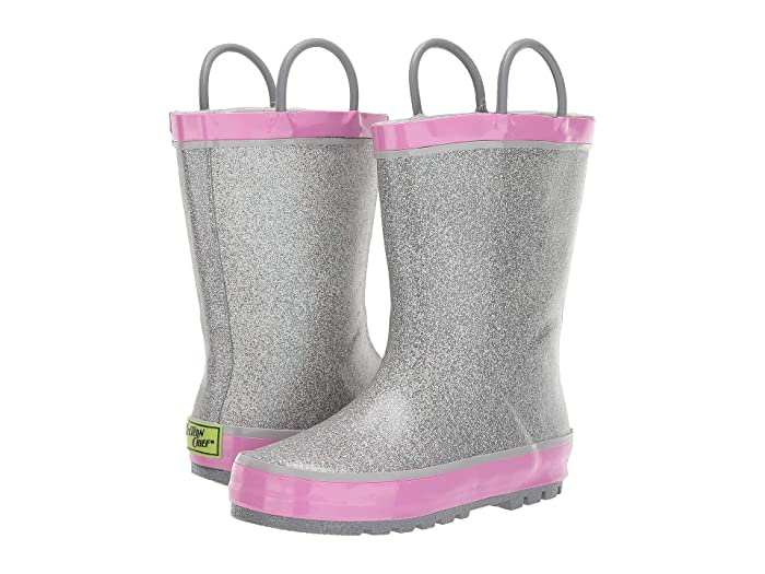 Western Chief Kids Solid Glitter Rain Boot (Toddler/Little Kid)