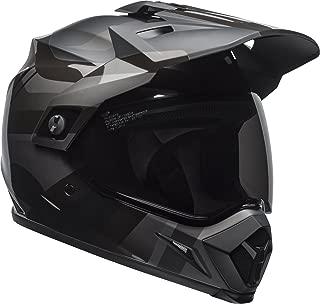 Bell MX-9 Adventure MIPS Full-Face Motorcycle Helmet (Matte/Gloss Blackout, Medium)