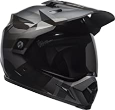 Bell MX-9 Adventure MIPS Full-Face Motorcycle Helmet (Matte/Gloss Blackout, Large)