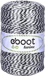 Cotton Twine Baker's Twine Natural Kitchen String (Black)