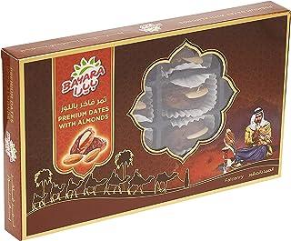 Bayara Premium Dates With Almonds, 200 gm (Pack of 1)