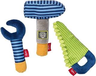 Sigikid sigikid, Jungen, Greifling Werkzeug Set, Papa und Me, Blau/Grün, 41676
