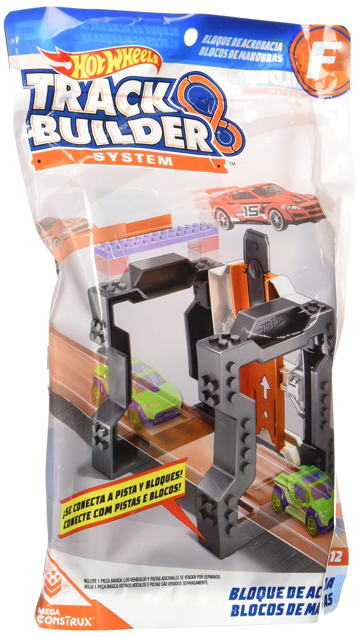 Hot Wheels - DMX48 - Track Builder Accessory - Trick Brick C: Amazon.es: Juguetes y juegos