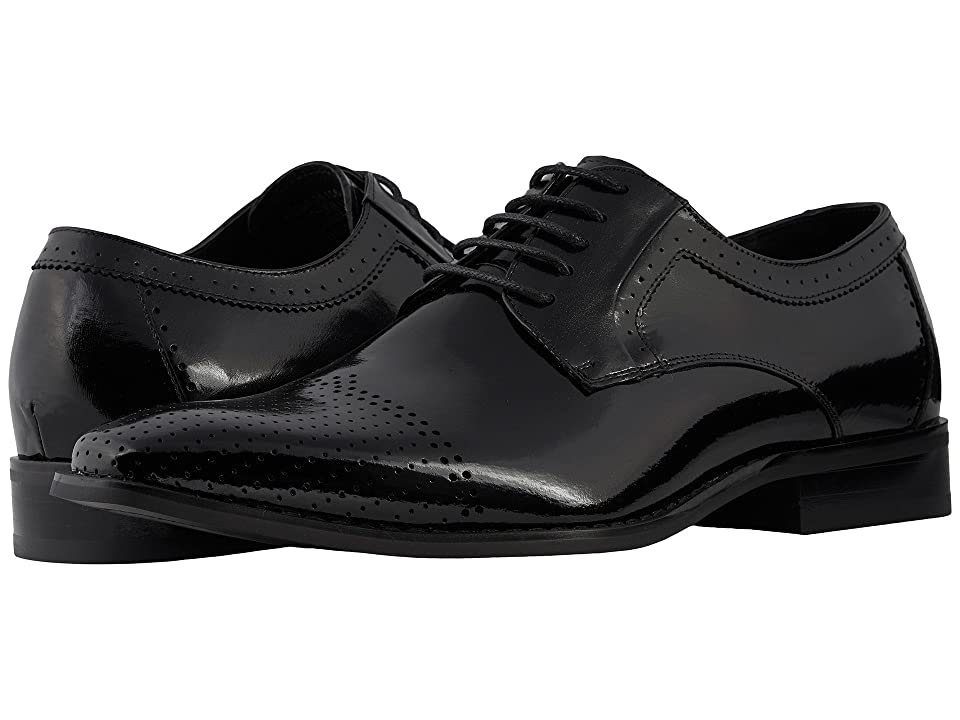 Stacy Adams Sanborn Cap Toe Oxford (Black) Men