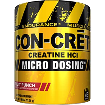 Promera Health Sports Con-Cret Creatine Hcl Fruit Punch, 48 ...