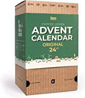 Advent Calendar 2021 for Coffee Lovers - Includes 25 Organic & Gourmet Ground Coffees of The World | Christmas Set for...