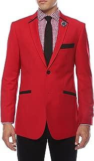 Men's Jersey Boy Slim Fit Tuxedo Blazer